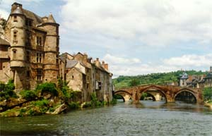 Picture of picturesque Espalion