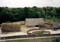 Picture of Gaulish village in the Archeodrome