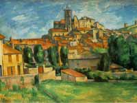 Painting of Gardanne by Czanne