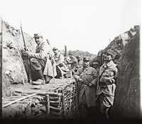 Picture of a trench in de battle of Verdun