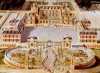 Painting of the Palace of Versailles in 1668