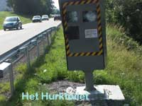 Picture of French speed camera
