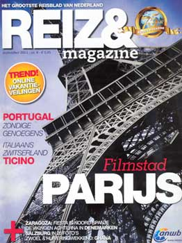 Cover van Reizen, september 2011
